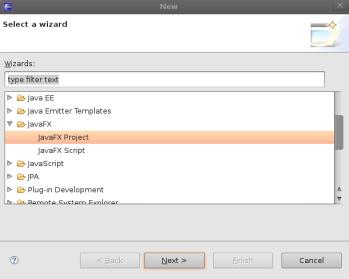Exadel JavaFX Studio plug-in for Eclipse: new screen shots