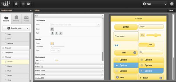 Visual Theme Editor