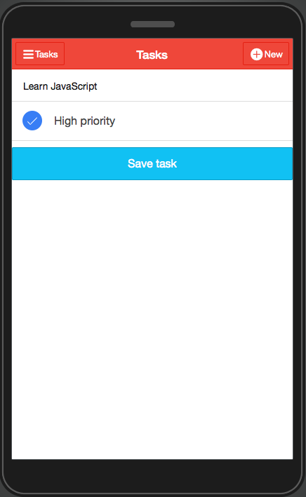 Tutorial: Building a Todo Mobile App with Ionic, Angular, Appery io