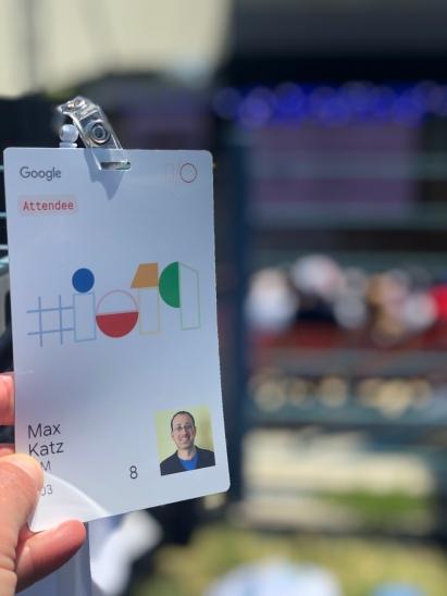 Google I/O badge